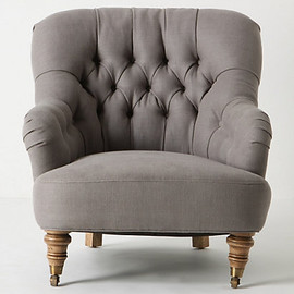 ANTHROPOLOGIE - Corrigan Chair, Linen