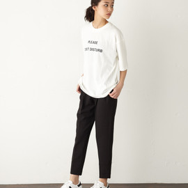 moussy - THREE TUCK PT Black