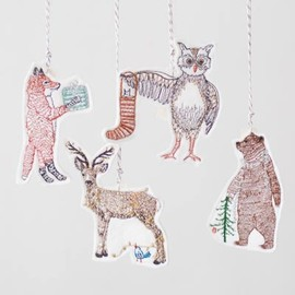 Coral&Tusk - animal ornaments set