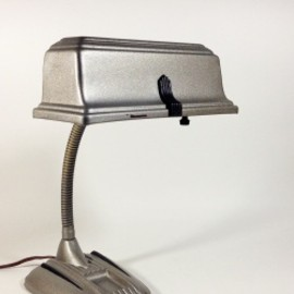 "1930-40's ""2-way"" Porcelain Bathroom Lamp 1台"