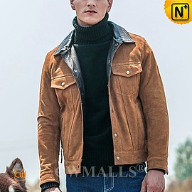 CWMALLS - Sydney Men Suede Cowhide Leather Jacket CW818303 | CWMALLS.COM