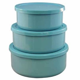 Calypso Basics - 6-Piece Bowl Set, Turquoise