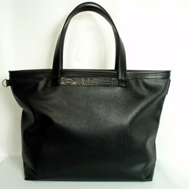 foot the coacher - leather tote bag