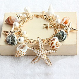 alanatt - Beach Holiday Starfish Bracelet