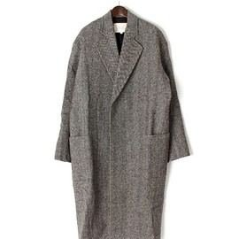 STUDIO NICHOLSON - OVERSIZED ENGLISH WOOL OVERCOAT