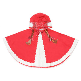 fuuvi - Rain poncho little red riding hood
