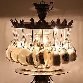 Anthropologie - Tea Time Chandelier