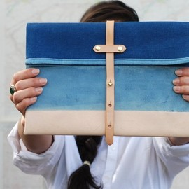 Sketchbook Crafts - Indigo Clutch