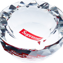 Supreme - Diamond Cut Crystal Ashtray