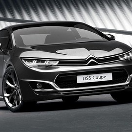 Citroen - DS5 Coupe renders