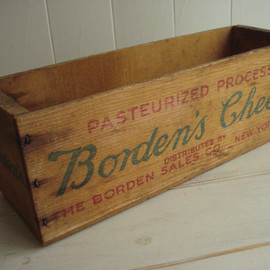 Borden's - Borden's cheese crate