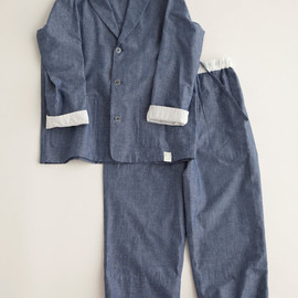 """NOWHAW - """"day"""" pajama # chambray パジャマ/シャンブレー"""