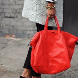 Red bag/style