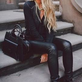 All black style★