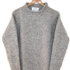 JAMES CHARLOTTE Hand Framed Knitwear - PLAIN CURLED セーター