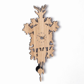 Pascal Tarabay - Mini Cuckoo Forest Clock