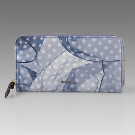 Paul Smith Women - Floaty Polka Dot Print Zip Around Purse