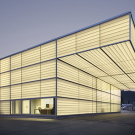 Ian Shaw Architekten - Translucent Workshop in Siegen, Germany