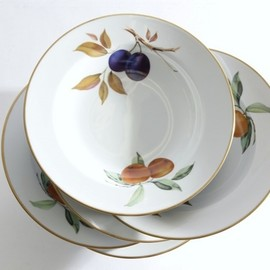 royal worcester - deep plate