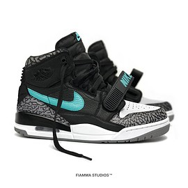 Jordan Brand, Fiamma Studios, Just Don - Air Jordan Legacy 312 - Atmos Custom