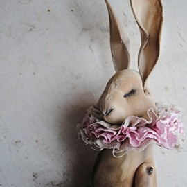 Mister Finch - Hare doll With Ruff
