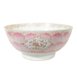 An 18th Century Chinese Export Porcelain Lotus Bowl