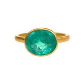 Marie-Helene de Taillac -  Emerald Princess Ring