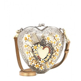 DOLCE&GABBANA - SS2015 Sacred Heart embellished shoulder bag