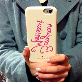 kate spade NEW YORK - IPHONE6 CASE Bonjour mademoiselle