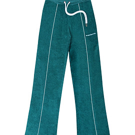 wasted - WM Tracksuit Pant Terry Green Emerald