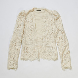 NINE - Cotton Lace Cardigan