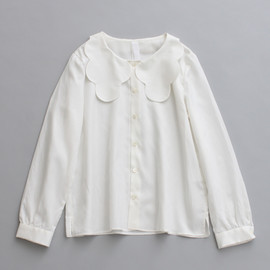 big frill blouse