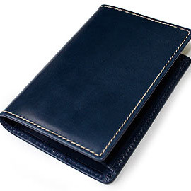 Whitehouse Cox - NAME CARD CASE (NAVY)