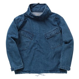 C.E - WASH DENIM PULLOVER JACKET