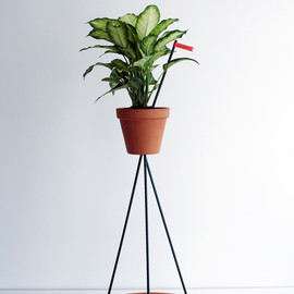 Industrial Facility - Flower Pot Stand