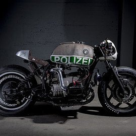 "BMW - CLASSIC BOXER SPRINT R80 RT Polizia UNO ""P1"" by vtr-customs.com"