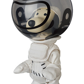MEDICOM TOY - VCD BILLIONAIRE BOYS CLUB ASTRONAUT SNOOPY