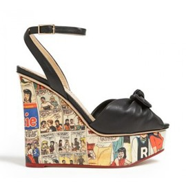 Charlotte Olympia - アーチーウェッジサンダル(Archie Wedge Sandal)