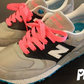 "New Balance - loyaltothesport:New Balance 999 ""South Beach"" Custom"