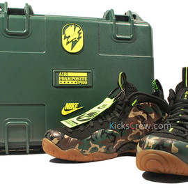 Nike - Air Foamposite Pro Camo - Special Edition w/ Case