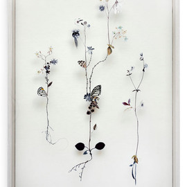 Anne ten Donkelaar - Flower construction #14
