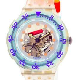 Swatch - SCUBA JELLY BUBBLES SDK104W
