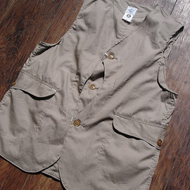 POST O'ALLS - #1512 ROYAL TRAVELER PIMA poplin / dk.khaki