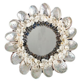 JAYSON HOME - ABALONE SHELL MIRROR