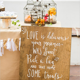 Wedding Chicks - font