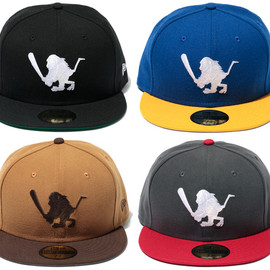 "SANTASTIC! - NEW ERA 59FIFTY ""BAT SARU"""