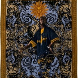 Kehinde Wiley - ビーチタオル WOW Project (Works on Whatever)