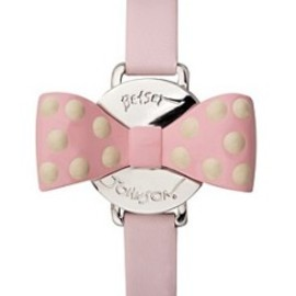 BETSEY JOHNSON - Pink-Bow Watch
