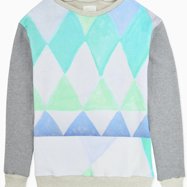 wed - 【wed】SNOW TREE SWEAT PULL OVER