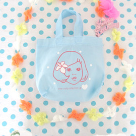Curly Collection - Shopping bag S♥アロハガール×blue